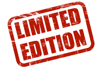 Limited Edition paperback of No Regrets