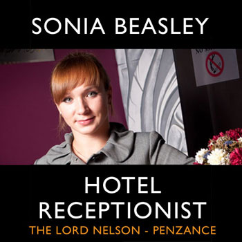 Sonia Beasley - a character from the Pieter van Es thriller series